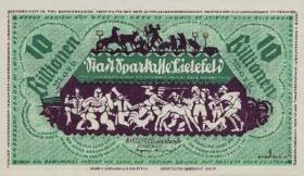 Bielefeld 10 Billionen Mark 1922