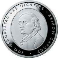 Deutschland 10 Euro 2004 Mörike PP