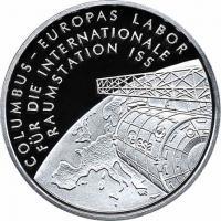 Deutschland 10 Euro 2004 Internat. Raumstation PP