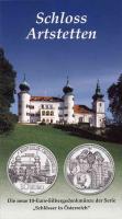 Österreich 10 Euro 2004 Artstetten, im Folder
