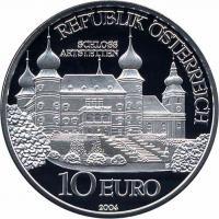 Österreich 10 Euro 2004 Artstetten, PP