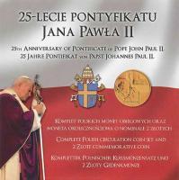 Polen KMS 2002 25 J. Pontifikat