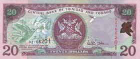 Trinidad & Tobago P.44b 20 Dollars 2002 (1)