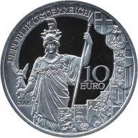 Österreich 10 Euro 2005 60 J. Zweite Republik, PP