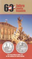 Österreich 10 Euro 2005 60 J. Zweite Republik im Folder