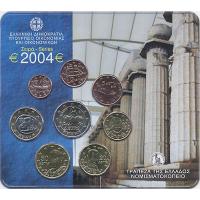 Griechenland Euro-KMS 2004