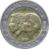 Belgien 2 Euro 2005 Wirtschaftsunion