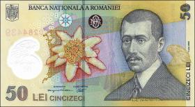 Rumänien / Romania P.120a 50 Lei (20)06 Polymer (1)