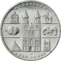 Deutschland 10 Euro 2005 Magdeburg stg