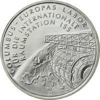 Deutschland 10 Euro 2004 Internat. Raumstation stg