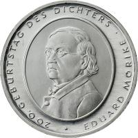 Deutschland 10 Euro 2004 Mörike stg