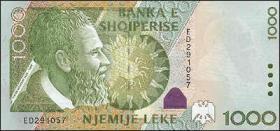 Albanien / Albania P.69 1000 Leke 2001 (1)