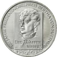 Deutschland 10 Euro 2005 von Suttner stg
