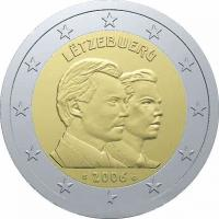 Luxemburg 2 Euro 2006 Guillaume