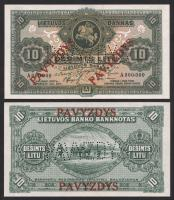 Litauen / Lithuania P.23s1 10 Litu 1927 Specimen (1)