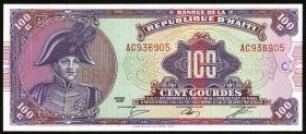 Haiti P.250 100 Gourdes 1986 (1)