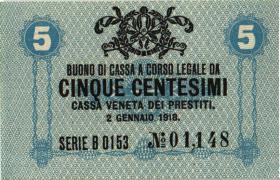 Italien / Italy P.M01 5 Centesmi 1918 (1)