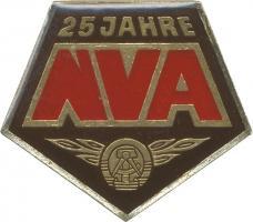 Jubiläumsabzeichen 25 Jahre NVA