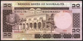 Somalia P.27 20 Shillings 1980 (1-)