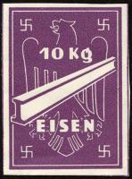 Ersatzzahlungsmittel 3. Reich Eisen 10 kg (1)
