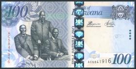 Botswana P.33b 100 Pula 2012 (1)