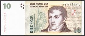 Argentinien / Argentina P.348 10 Pesos (1998-2003) (1)