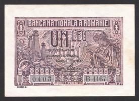 Rumänien / Romania P.038 1 Leu 1938 (1)