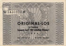 3. Reich Originallos zur Kleidersammlung 1944 (1)
