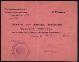 R.403a 2 Francs 1915 (3-)