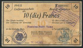 R.416a 10 Francs 18.1.1915 Deichmann-Bon (3)