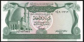 Libyen / Libya P.44b 1 Dinar (1981) (1)