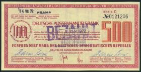 500 Mark Reisescheck DAHB (1-)