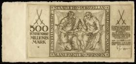Meissen 500 Millionen Mark 1923 (3/2)