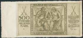 500 Mio. Mark 1923 (1-)