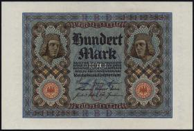 R.067a: 100 Mark 1920 (1) Bamberger Reiter