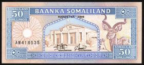 Somaliland P.07a 50 Shillings 1996 (1)