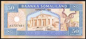 Somaliland P.07b 50 Shillings 1996 (1)