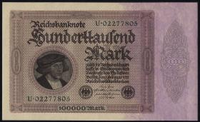 R.082a: 100.000 Mark 1923 (1)