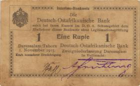 R.916h: Deutsch-Ostafrika 1 Rupie 1915 Q (3)