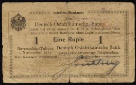 R.916e: Deutsch-Ostafrika 1 Rupie 1915 C (4)
