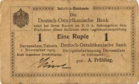 R.918b: Deutsch-Ostafrika 1 Rupie 1915 E (3)