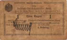 R.919a: Deutsch-Ostafrika 1 Rupie 1915 H (4)