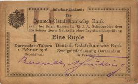 R.928a: Deutsch-Ostafrika 1 Rupie 1916 (3)