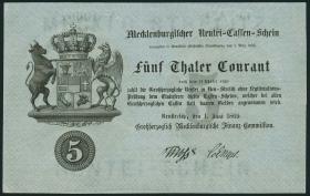 A-180 Mecklenburg-Strelitz 5 Thaler 1869 (1/1-)