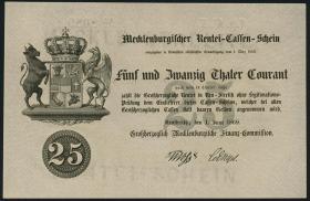 A-182 Mecklenburg-Strelitz 25 Thaler 1869 (1)