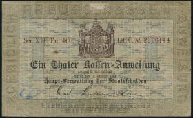 A-222 Preußen 1 Thaler 1861 (3/4)