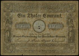 A-223 Preußen 1 Thaler Courant 1848 (5)