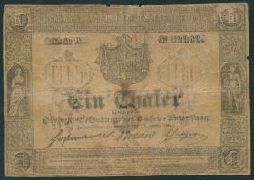 A-440: Sachsen-Coburg 1 Taler 1849 (5)