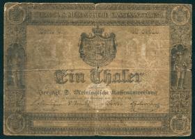 A-452 Sachsen - Meinigen 1 Thaler 1849 (4)