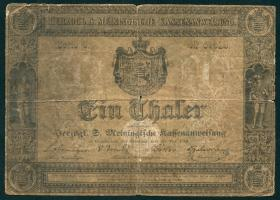 A-452 Sachsen - Meiningen 1 Thaler 1849 (4-)